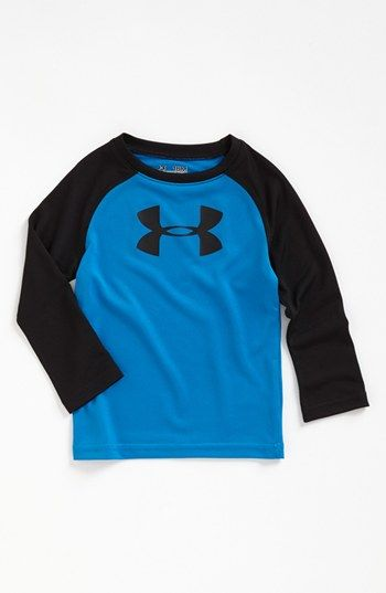 Under Armour Logo Top (Baby Boys) (Online Only) | Nordstrom...cute for 2014 football season