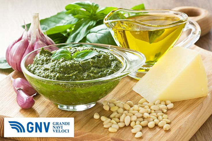 #Basil #pesto sauce and #fresh #ingredient. #Typical #Ligury (#Italy) #food. Discover #GNV routes from/to #Italy here: http://www.gnv.it/en