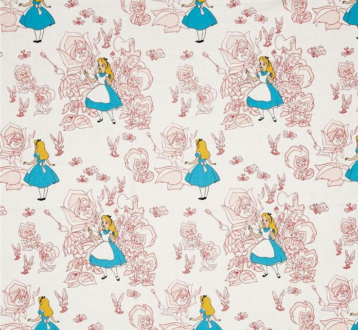 Custom Fitted Crib ~ Toddler Bed Sheet -  Alice in Wonderland ~ Pink Toile by hpiehl on Etsy https://www.etsy.com/listing/492881929/custom-fitted-crib-toddler-bed-sheet
