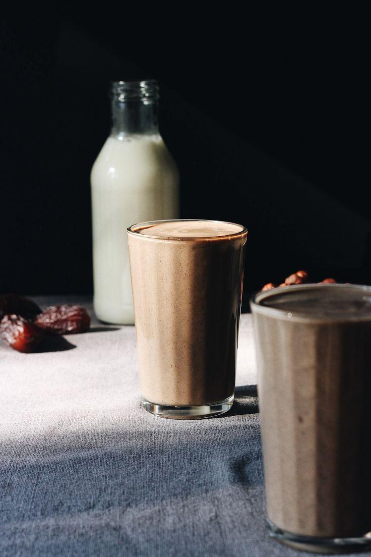 """""""Nutella"""" milkshake with probiotics"""