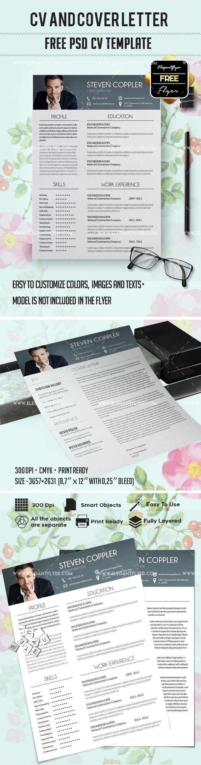 cover letter template for receptionist%0A https   www elegantflyer com freeresumetemplates