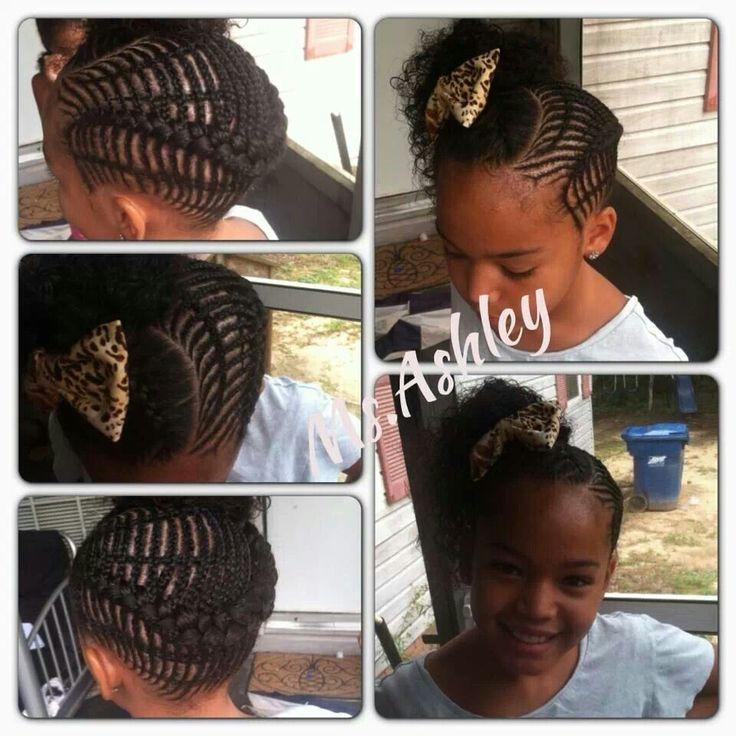 Enjoyable 1000 Images About Kids Braids On Pinterest Cornrows Cornrow Short Hairstyles For Black Women Fulllsitofus