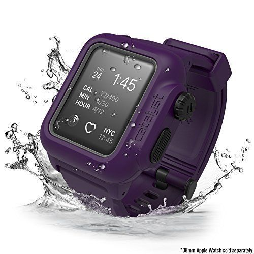 brand new 993ab 32f09 Apple Watch 38mm Series 3 2 Waterproof Rugged Shockproof Case fo ...