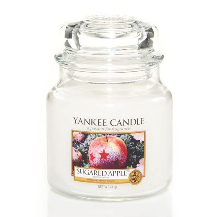 Yankee Candle - svíčka Sugared Apple střední   Svět bytových vůní
