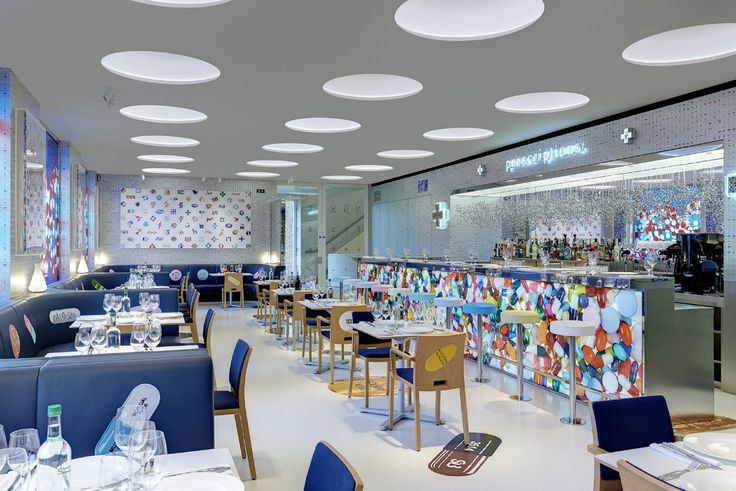 El concept restaurant The Pharmacy2 de Damien Hirst y el chef Mark Hix - AD España, © 2H Restaurant Ltd www.revistaad.es