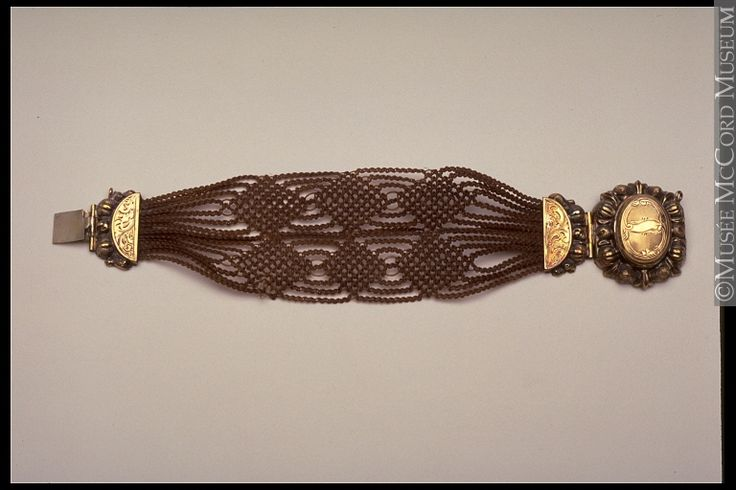 Mourning bracelet, 1840-60, McCord Museum