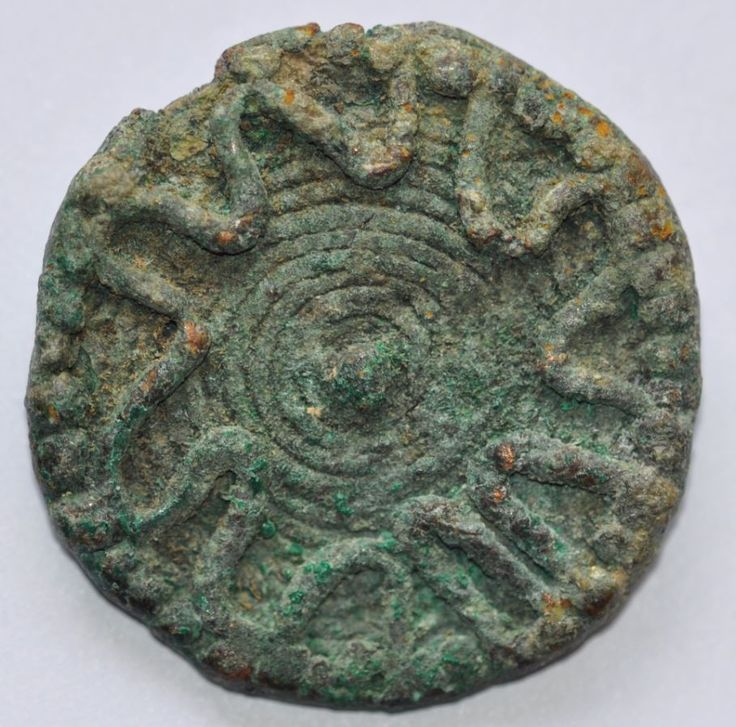 Amlash bronze ring 16, 1st millenium B.C. Private collection