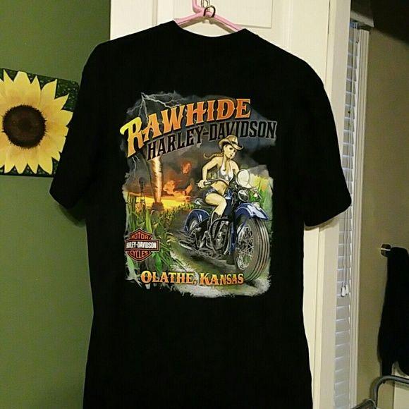 Shop Men's Harley-Davidson Black size L Tees - Short Sleeve