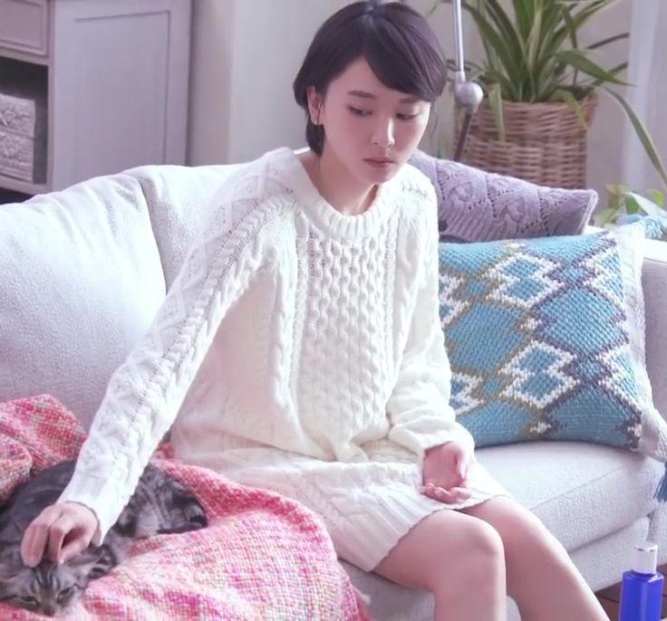 新垣結衣 CM 雪肌精「冬の蒸し雪肌精」篇! | 素敵な女優ダイアリー