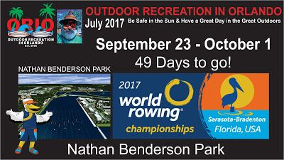 Outdoor Recreation In Orlando: 2017 World Rowing Championships Come to Florida