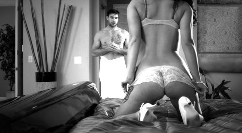 Male pantyhose slave