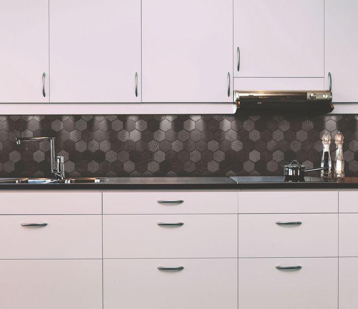 Inspiring backsplash idea for a fusion cuisine. #naturalstone #kitchen