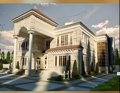 Classic villa exterior design google search luxury for Villas exterior design pictures
