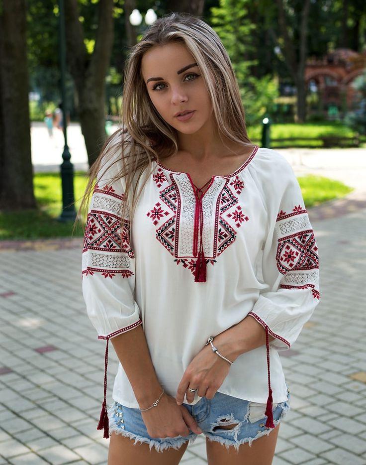 Русские рубашки женские картинки