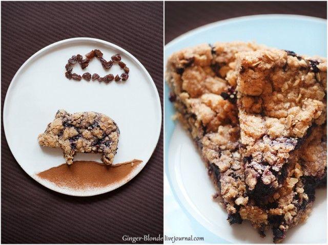 Ginger - Черничное печенье