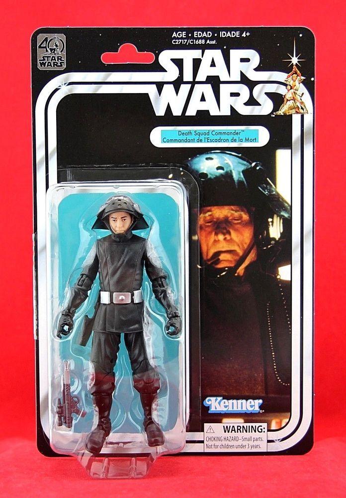 "Star Wars Black Series 40th Anniversary Death Squad Commander 6"" Action Figure #Hasbro"