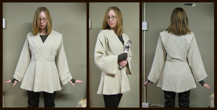Female Jedi Tunic by Verdaera.deviantart.com on @deviantART