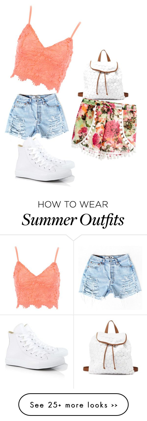 """the summer at school outfit"" by queenlya on Polyvore"