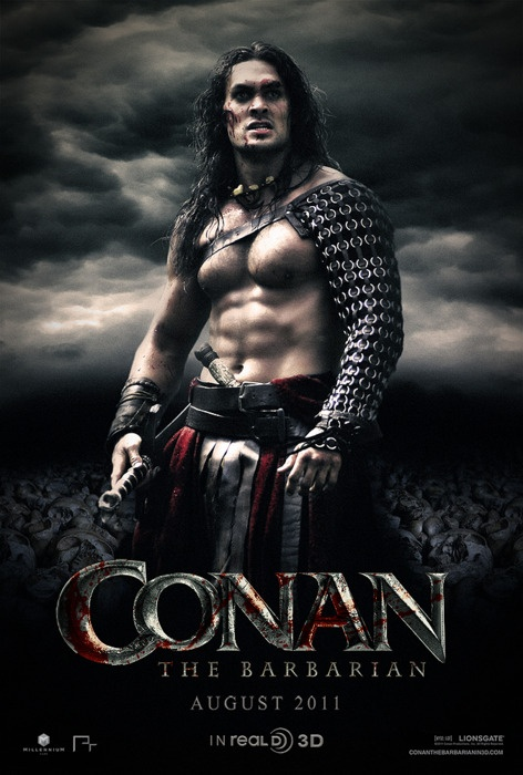 CONAN THE BARBARIAN the new movie. - A bit better than the Arnold film, IMHO.