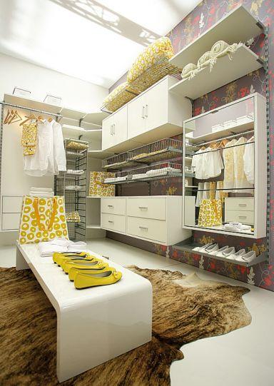 Inspirational Der begehbare Kleidertraum