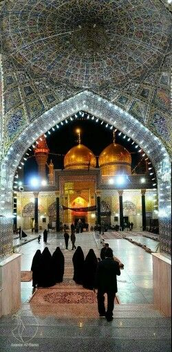 Isn't it beautiful  Roza Imam Hussain