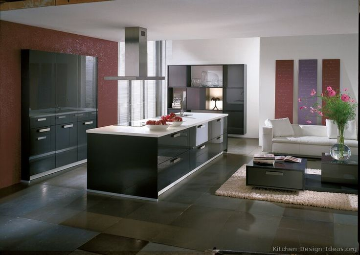 Contemporary Gray Kitchen Cabinets 129 best gray kitchens images on pinterest | gray kitchens, modern