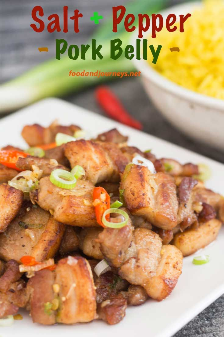 Thirty+minutes!+That's+all+the+the+time+it+takes+to+prepare+Salt+and+Pepper+Pork+Belly. +A+delicious+and+satisfying+dish,+and+NO-FUSS+seasoning+too!+Pork+Recipe+|+Asian+|+Wok.+#asianrecipe+#porkbelly+#30minutemeal+#easy+#quick