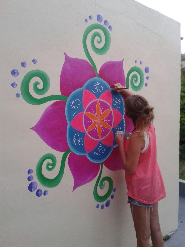 Semilla de la vida. Mural