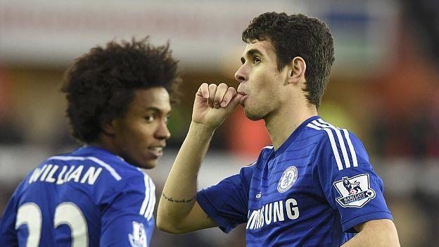 Chelsea aplastó 5-0 al Swansea con doblete de Diego Costa.