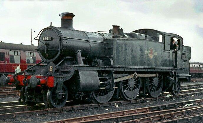 BR (GWR) Collett 61XX class  2-6-2 T