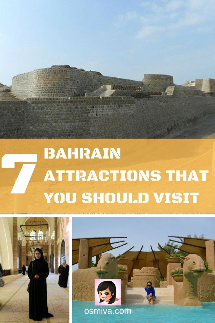 Bahrain Attractions You Should Not Miss. Travel Destinations. Asia Destinations. Middle East Travel. Kingdom of Bahrain.