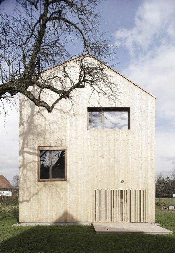 Haus am Moor, 2013, by Bernardo Bader Architekten /Krumbach, Austria