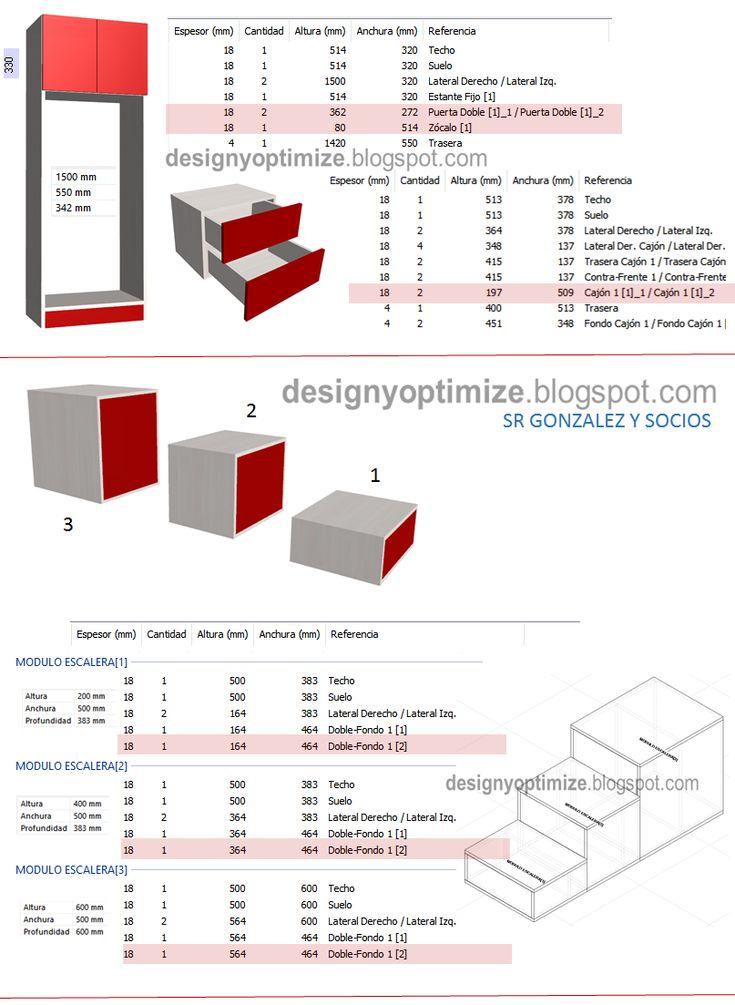 9 best muebles images on pinterest carpenter tools closets and diseos de cocinas armarios y muebles en general programas y software de carpinteria malvernweather Image collections