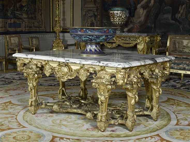 Les 988 meilleures images du tableau ch teau de fontainebleau sur pinterest chateau de - Table des marechaux fontainebleau ...