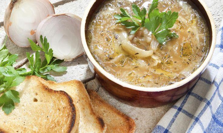 Poctivá francouzská cibulová polévka