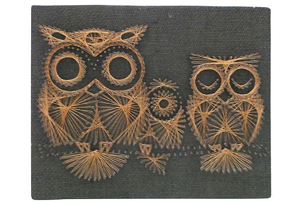 Wire Owl Picture on OneKingsLane.com