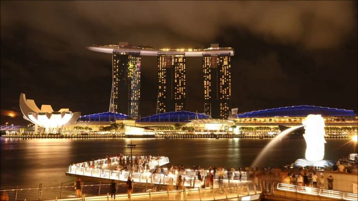 Singapore Tourist Attractions around Marina Bay - WATCH VIDEO HERE -> http://singaporeonlinetop.info/travel/singapore-tourist-attractions-around-marina-bay/    Four tourist attractions are featured in this video. 1. Merlion 2. Marina Bay Sands 3. Gardens By The Bay 4. Singapore Flyer Video credit to the YouTube channel owner