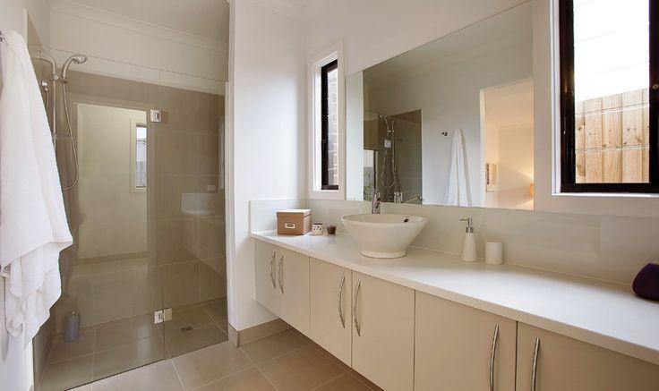 Beautiful Bathrooms #homes #bathrooms #design #newhomes www.megahomes.com.au