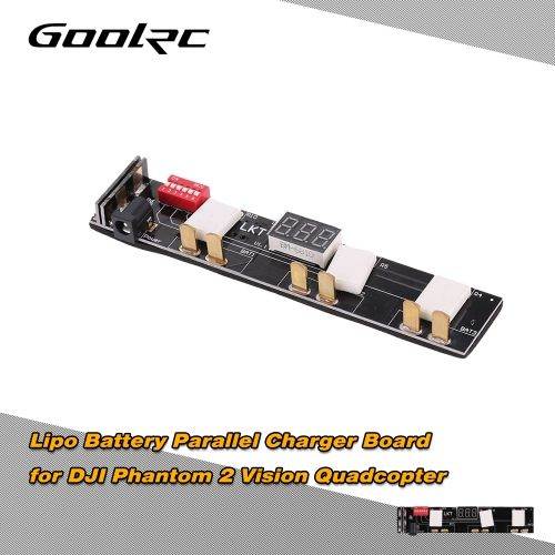 GoolRC Fast LiPo Battery Charger Board for DJI Phantom 2 Vision Quadcopter