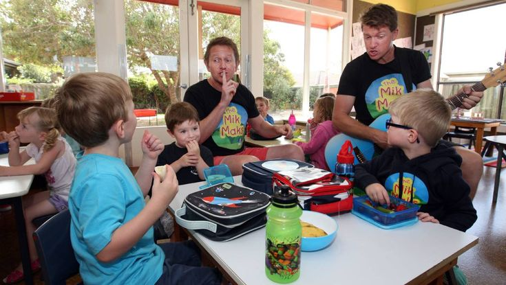 The Mik Maks spend time visiting Warrnambool Kinders-The Standard, Feb 2015