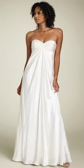 Свадебное платье в стиле греческой богини