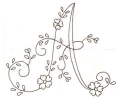 Patrones de letras para bordar a mano - Imagui                                                                                                                                                                                 More