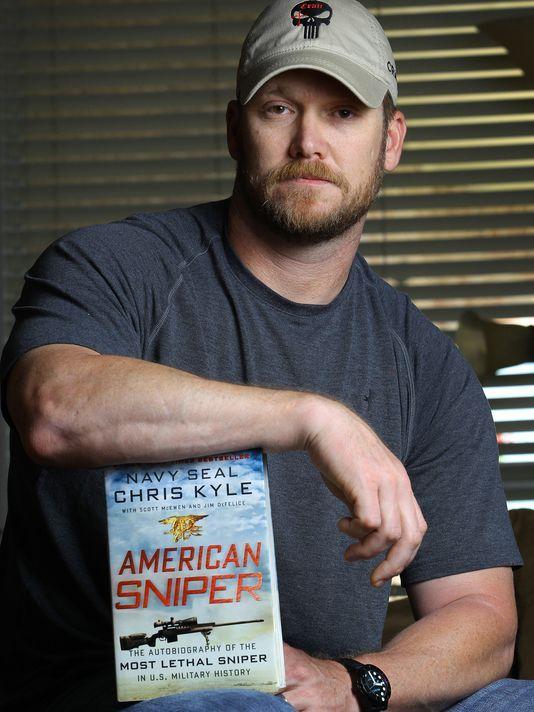 Sniper Chris Kyle. Panel discusses realism of 'American Sniper'