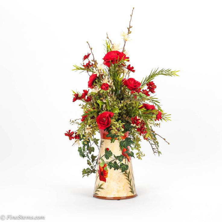114 best images about artificial floral arrangements on for Fall fake flower arrangement ideas
