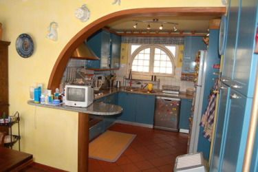 The Kitchen of villa Mary in Versilia, Tuscany.