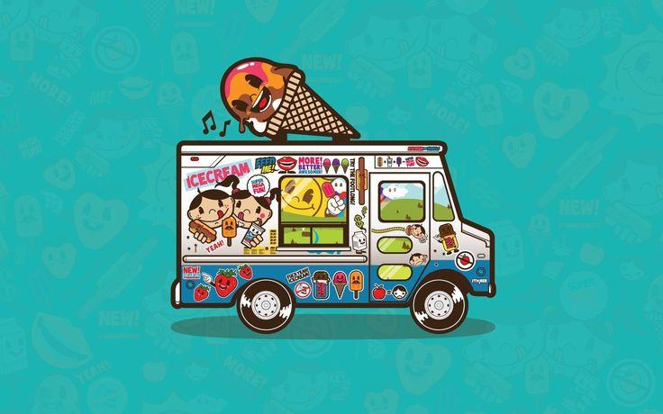 Ice Cream Sneaker Truck Wallpapers, Ice Cream Sneaker Truck ...