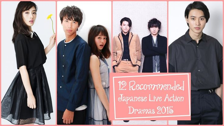 12 Recommended Japanese Live Action Dramas 2015