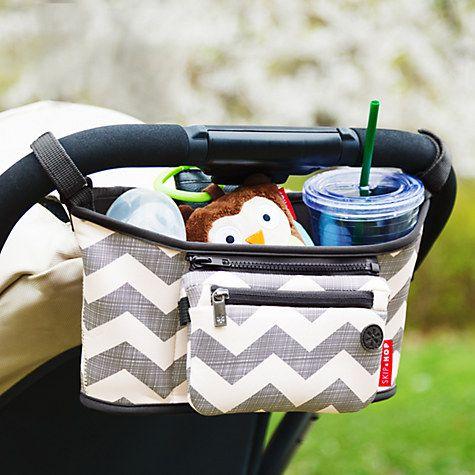 Buy Skip Hop Stroller Organiser, Chevron Online at johnlewis.com