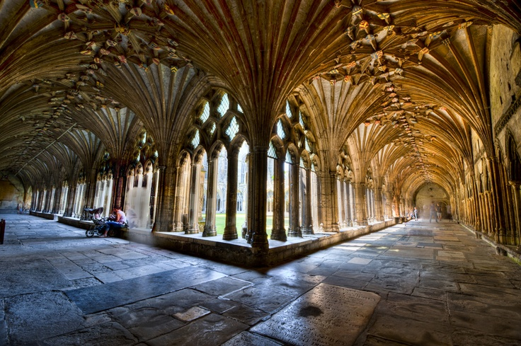 The Cloisters of Canterbury Cathedral: Canterburi Cathedrals, Architecture Photo, Canterburi Cloister, English Cathedrals, Cathedrals Kent, Cathedrals England, Architecture Stuff, Architecture Design, Cloister Pictures