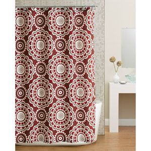 Although I just purchased a new shower curtain, I am totally in love with this one! Would look great in our newly painted bathroom!